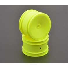 U7460 Wheel Rear 4WD Neon Yellow 1/10 (2)