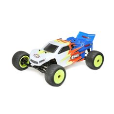 Mini-T 2.0 RTR, Blue/White: 1/18 2wd