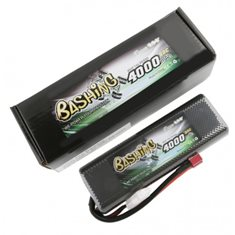 GENS ACE BATTERY LIPO 2S 7.4V-4000-45C(DEANS) 139X47X23MM 200G.