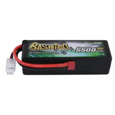 GENS ACE BATTERY LIPO 3S 11.1V-5500-50C(DEANS) 139X46X40MM 350G