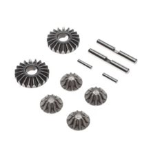 Gear Set, G2 Gear Diff, Metal: 22