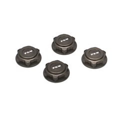Covered 17mm Wheel Nuts, Alum: 8B/8T 2.0.