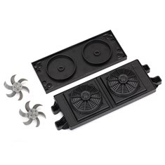 Traxxas 8421 Radiators Black (2)