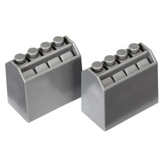Traxxas 8424 Oil Bottles Grey (2)