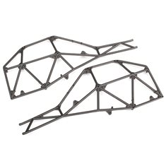 Traxxas 8430 Tube Chassis Side Sections (2)