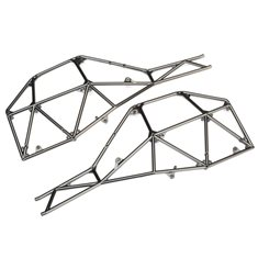 Traxxas 8430X Tube Chassis Side Section Satin Chrome