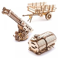 Ugears Set of Truck Additions
