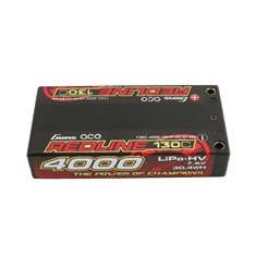 GENS ACE BATTERY LIPO 2S HV 7.6V-130C-4000 (4MM) 97X48X16MM 125G