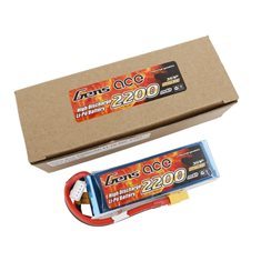 GENS ACE BATTERY LIPO 3S 11.1V-2200-30C(XT60) 108X33X22MM 175G