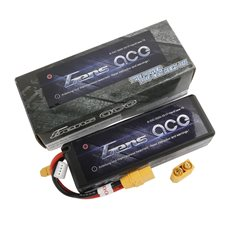 GENS ACE BATTERY LIPO 3S 11.1V-5000-45C(XT90 DUAL) 139X47X38MM 397G
