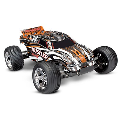 Rustler 2WD 1/10 RTR TQ Orange - Med Batteri/Laddare