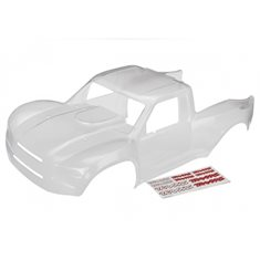 Traxxas 8511 Body Unlimited Desert Racer Clear