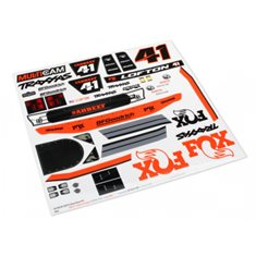 Traxxas 8515 Decals Unlimited Desert Racer Fox Edition