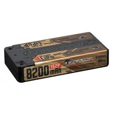 Li-Po Batteri 1S 3,7V 8200mAh 100C Shorty U-LCG Gold