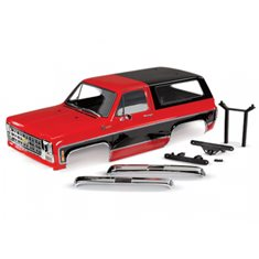 Traxxas 8130R Body Chevy Blazer Red Complete
