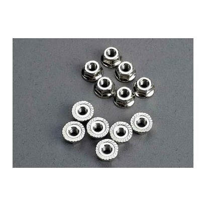 Traxxas Mutter 3mm flanged (12)