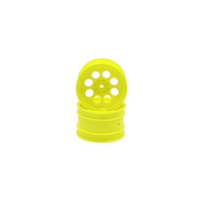 Wheel 8 holes 50mm. (2) Turbo Optima - Yellow